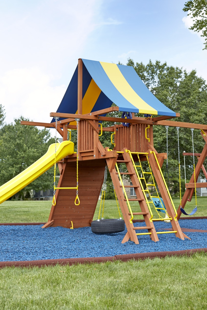 Rubber Timbers Affordable Playgrounds By Trassig
