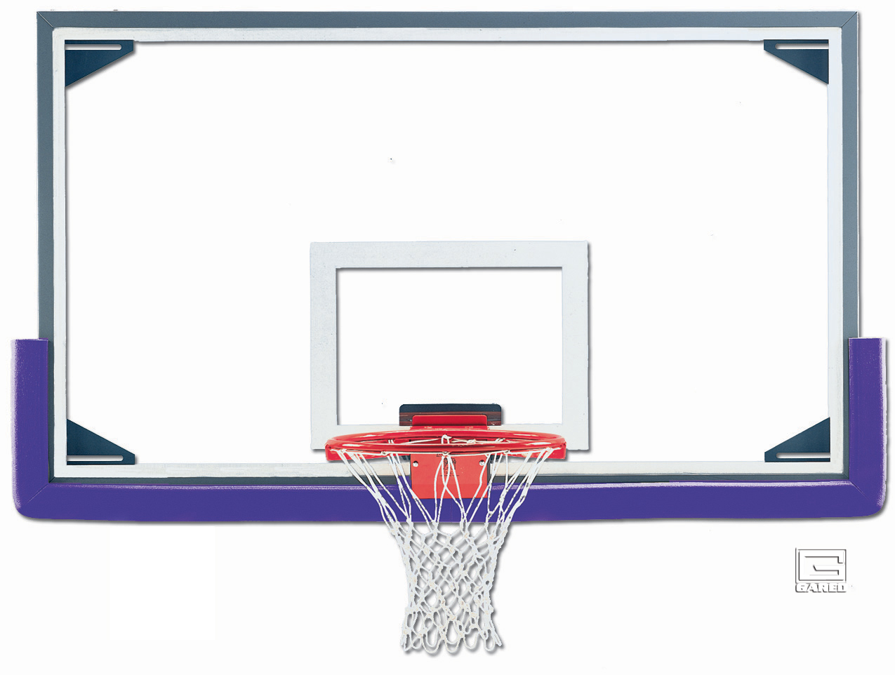 AFRG42 Glass Basketball Backboard - Affordable Playgrounds By Trassig